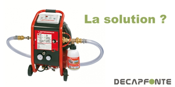 Radiateur fonte qui ne chauffe plus ou pas assez for Nettoyage interieur radiateur fonte
