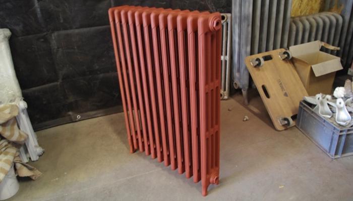 achat radiateur fonte couleurs 3011 rouge brun. Black Bedroom Furniture Sets. Home Design Ideas