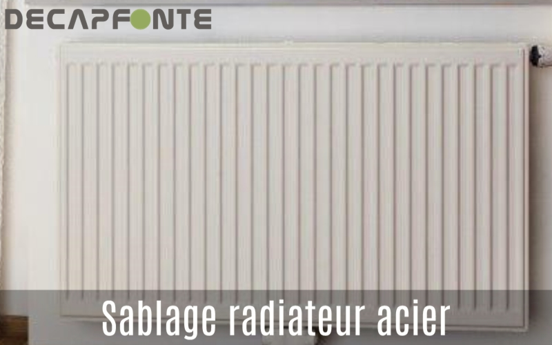 sablage radiateur r novation peinture. Black Bedroom Furniture Sets. Home Design Ideas