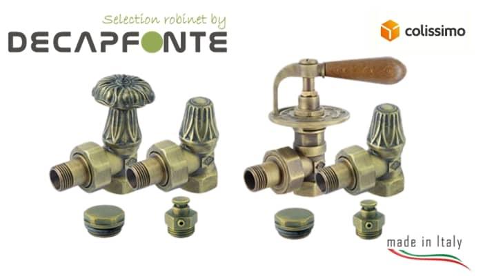 robinet radiateur fonte