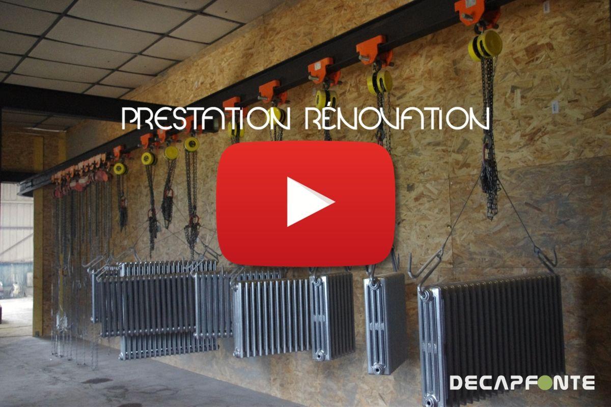 Sablage radiateur Belgique